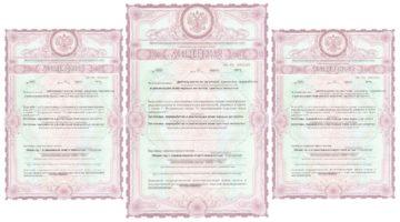 бланк лицензии на металлолом